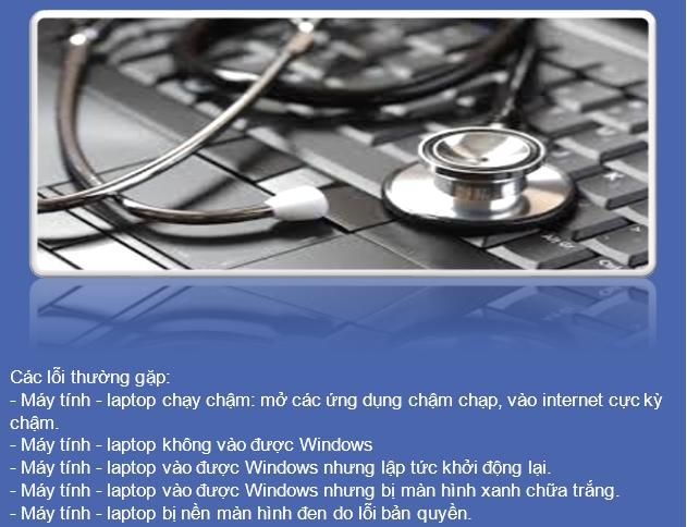 Sửa máy tính quận Hà Đông