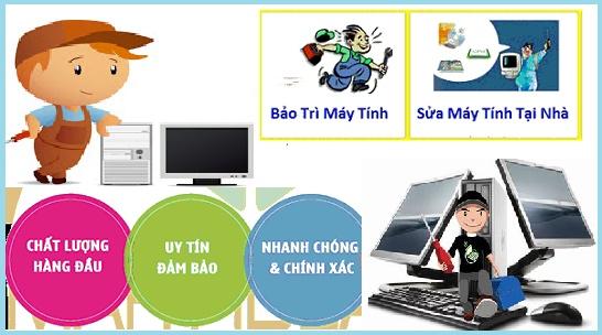 Sửa máy tính, laptop tại nhà Quận Hoàng Mai, Hà Nội