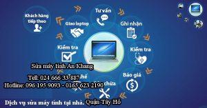 Sửa máy tính, laptop tại nhà quận Tây Hồ Hà Nội