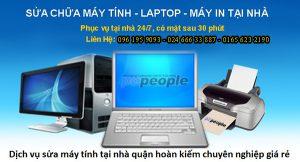 Dịch vụ sửa máy tính tại nhà Quận Hoàn Kiếm