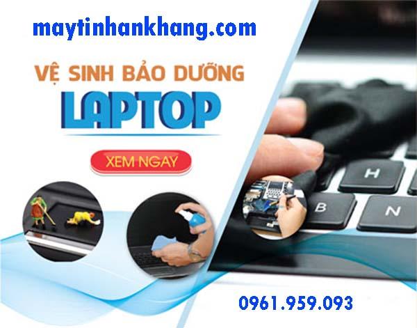 vệ sinh bảo dưỡng máy tính laptop