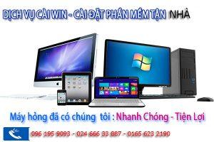 An Khang dịch vụ cài Win 7, 8, 10 tại nhà sau 30P có máy dùng