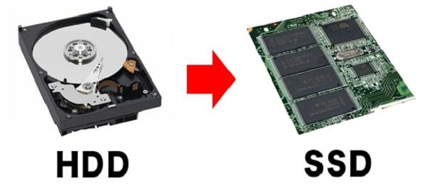 vì sao nên nâng cấp lên ổ cứng ssd