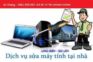 Dịch vụ sửa máy tính, laptop tại nhà Gia Lâm, Long Biên