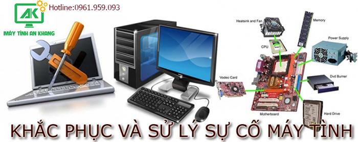 Xử lý khắc phục mọi sự cố máy tính tại nhà An Khang