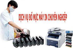 Dịch vụ đổ mực máy in tại nhà giá rẻ khu vực Hà Nội