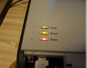 Khắc phục lỗi máy in không in được và lỗi thường gặp của máy in
