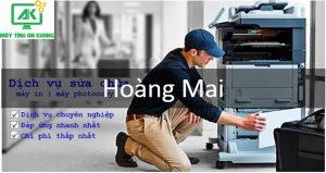 Dịch vụ sửa máy in, đổ mực máy in tại nhà Quận Hoàng Mai