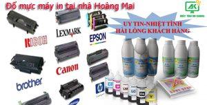 Đổ mực máy in tại nhà quận Hoàng Mai