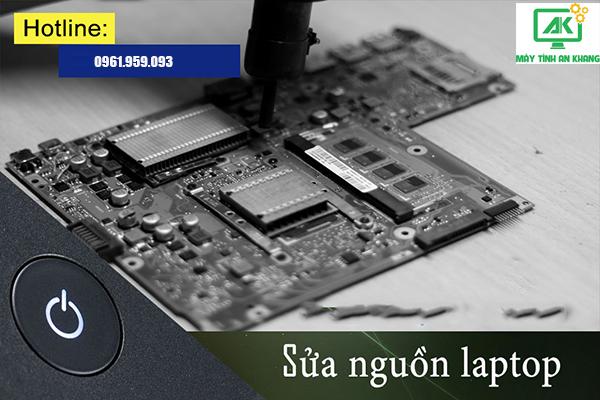 Sửa và thay nguồn laptop tận nhà